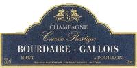 CHAMPAGNE BOURDAIRE-GALLOIS