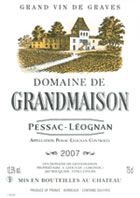 DOMAINE DE GRANDMAISON EARL